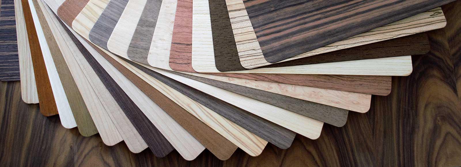 varie essenze di legno